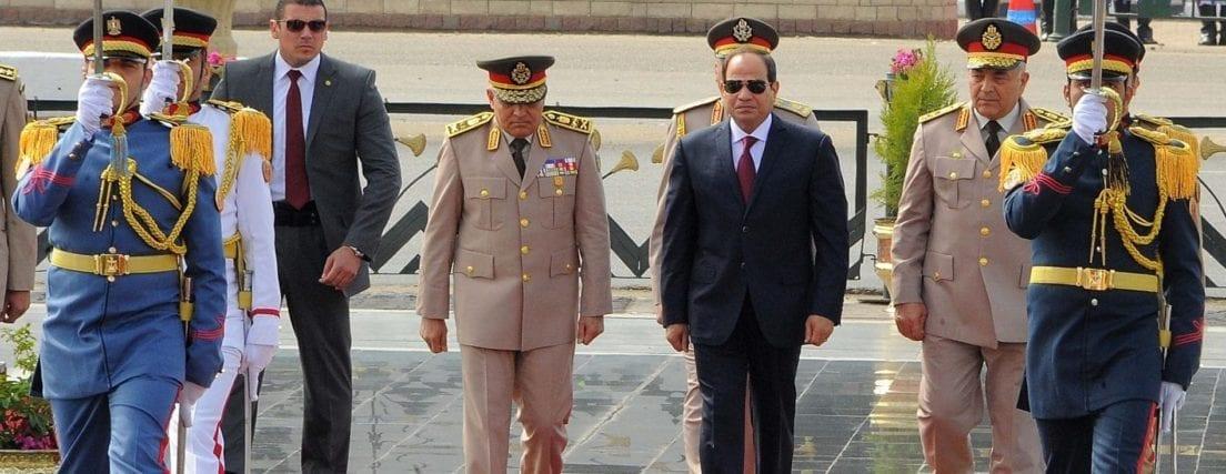 الرئيس السيسي يحتفل بذكرى الـ45 لنصر أكتوبر