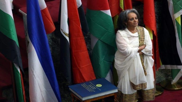 """السيسي يهنيء """"سهلي زودى"""" أول رئيسة لإثيوبيا"""