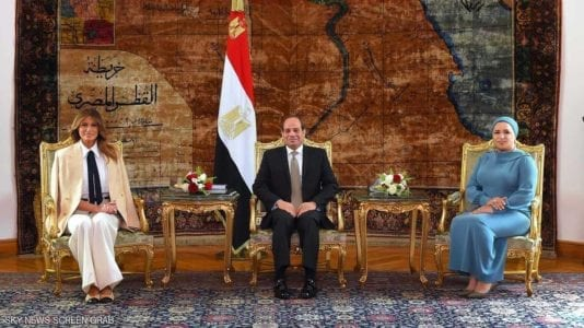 ميلانيا في مصر