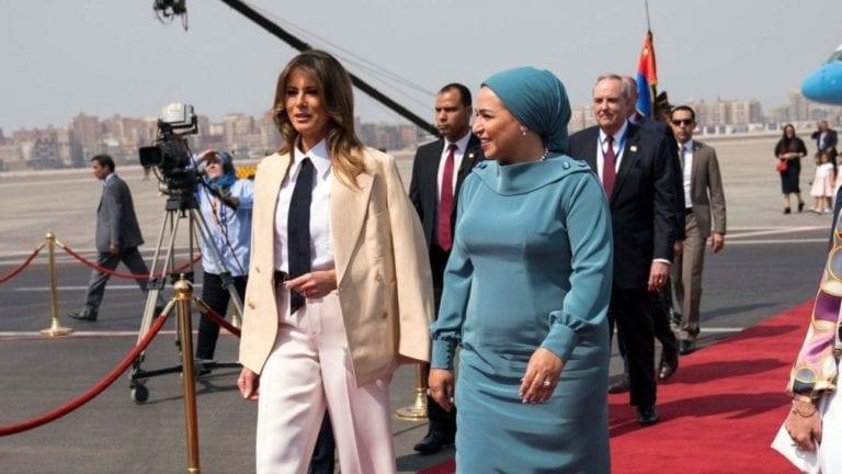 ميلانيا ترامب في مصر