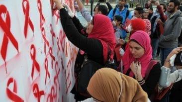 مرضى الإيدز في مصر