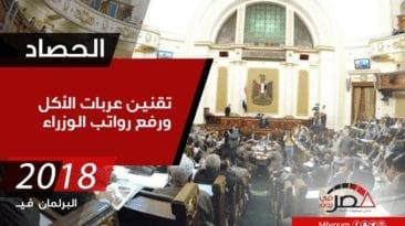 حصاد 2018.. البرلمان في عام(قوانين وأزمات)