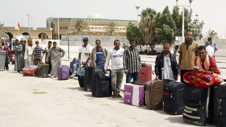 عمالة مصرية بليبيا - أرشيف