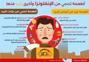 أطعمة تحمي من الإنفلونزا