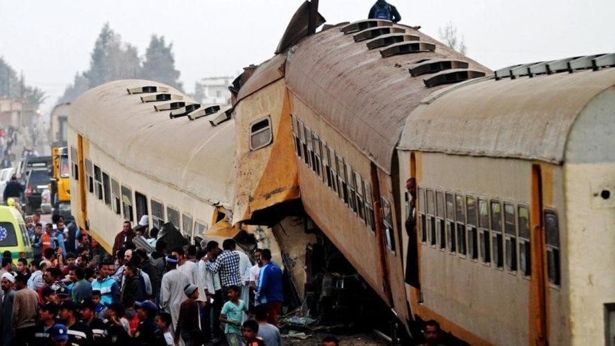 حوادث الطرق والقطارات في مصر