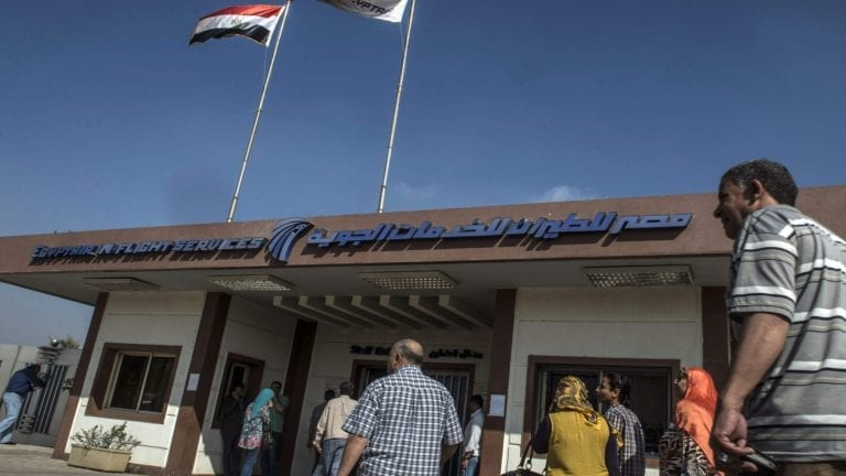 تأمين المطارات المصرية