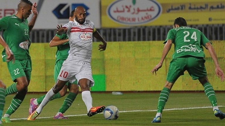 مباراة الزمالك والاتحاد السكندري في البطولة العربية