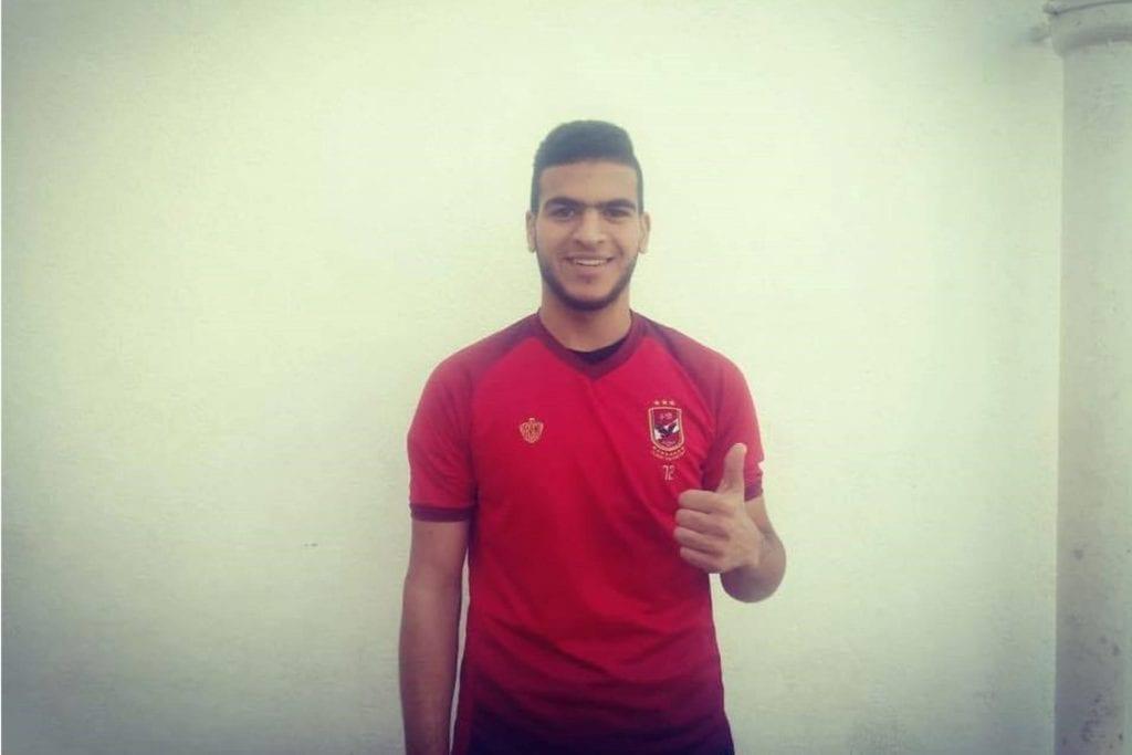 اللاعب الفلسطيني حامد حمدان