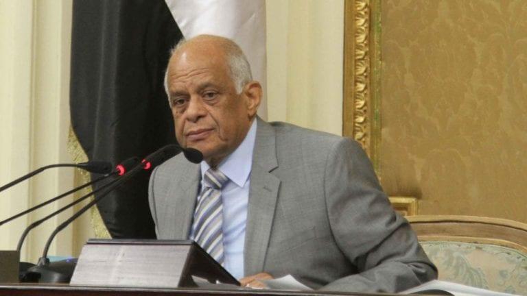 """عبد العال يمهل الحكومة أسبوع للرد على """"النواب"""""""