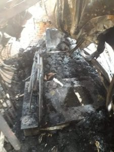 حريق مصانع شبرا الخيمة