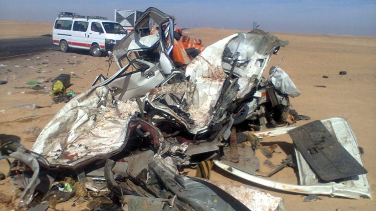 حوادث الطرق في مصر