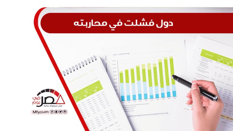 مصر الـ117 في مؤشر مدركات الفساد برصيد 32 نقطة.. تفاصيل