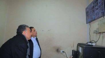 كاميرات مراقبة في محطة قطارات الجيزة