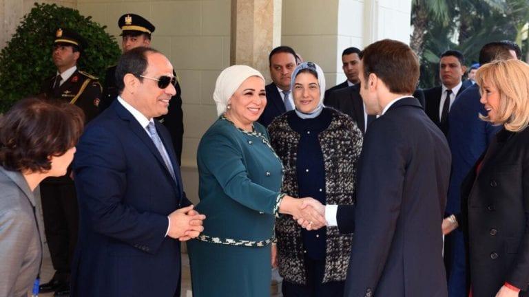 زيارة ماكرون إلى مصر