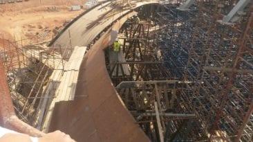 إصابة عمال في انهيار سقف مبنى بالعلمين.. تفاصيل