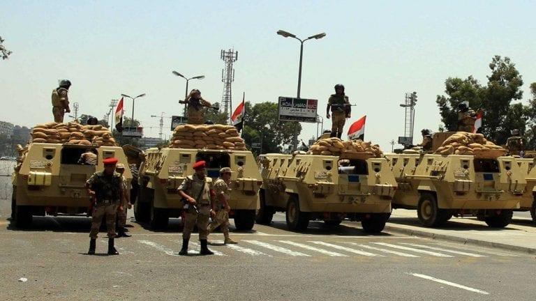 """القوات المسلحة تعلن مقتل ثمانية """"إرهابيين"""""""