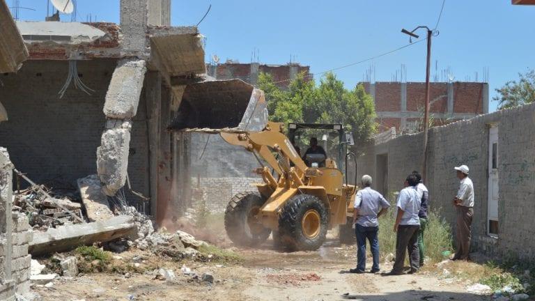 حملة إزالة في الإسكندرية
