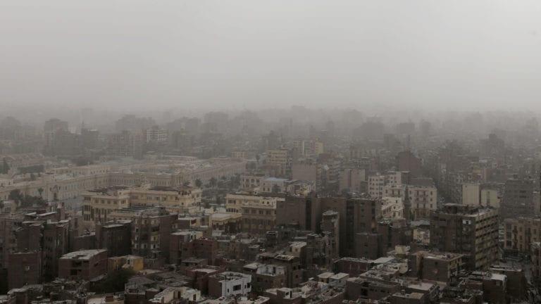 طقس بارد في مصر