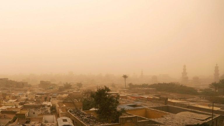 طقس سيئ في مصر