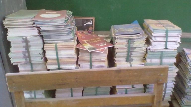 إحباط محاولة تهريب وسرقة 3 آلاف كتاب مدرسى بأسوان