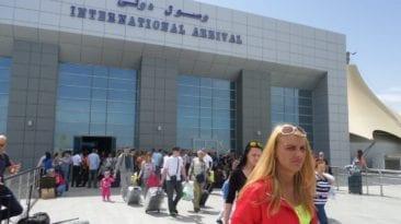 مطار الغردقة يستقبل أول رحلة طيران روسية بعد توقف 39 شهرا