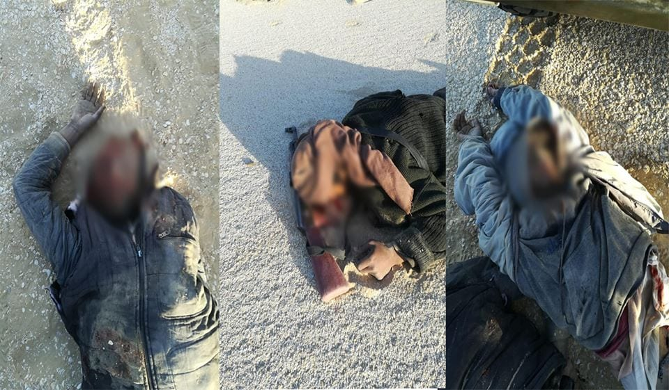 المتحدث العسكري يعلن قتل ثمانية إرهابين بالظهير الغربي للبلاد