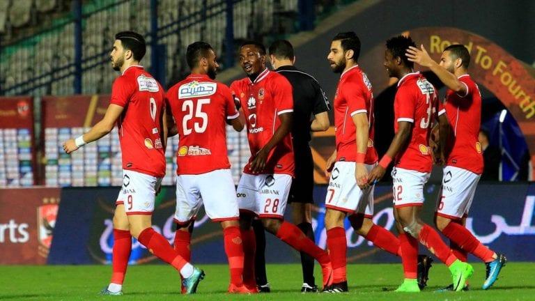 النادي الأهلي يفوز على الداخلية والزمالك يتعادل مع طلائع الجيش