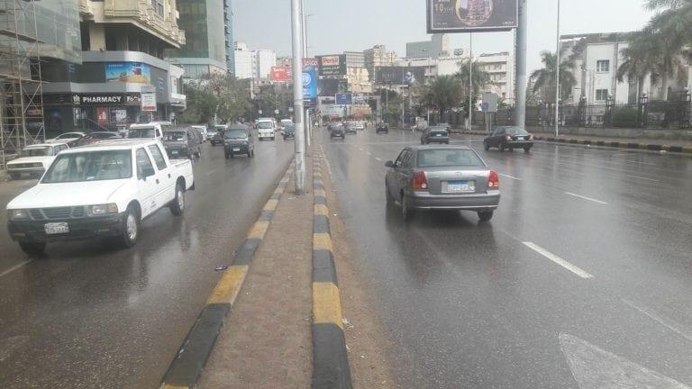 أمطار وشبورة