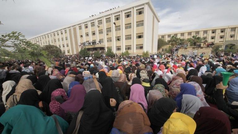 واقعة اختطاف طالبة جامعة الأزهر