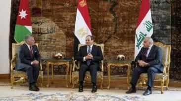 القمة المصرية الأردنية العراقية