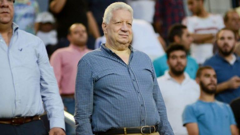 """مرتضى منصور يتحدى ويبث برنامج الزمالك على """"الرافدين"""""""