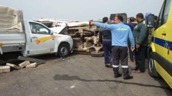 مصرع 13 شخصا وإصابة 10 في حوادث متفرقة