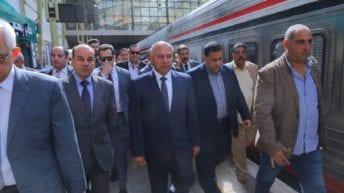 وزير النقل يتفقد محطة مصر للمرة الثانية خلال 24 ساعة