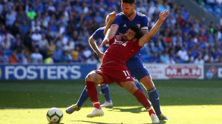 نادي ليفربول يفوز على كارديف ومنع صلاح من تسديد ضربة جزاء