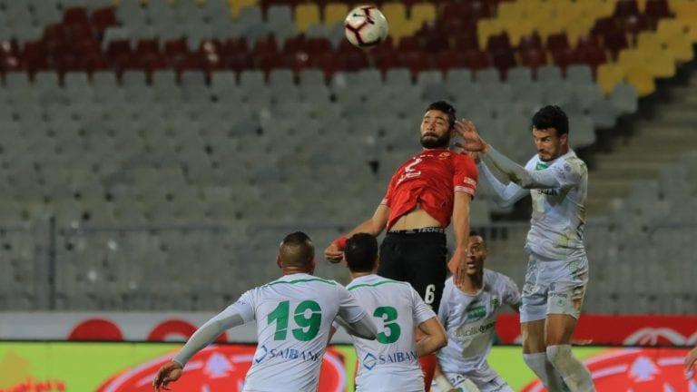 النادي الأهلي يتخطى الاتحاد السكندري بثنائية ويتصدر لأول مرة
