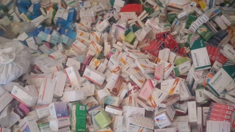 عصابة تهريب أدوية