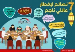 نصائح لإفطار عائلي ناجح