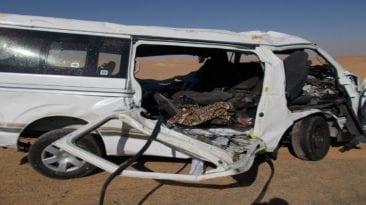 مصرع 14 شخصا وإصابة 48 في حوادث طرق مختلفة