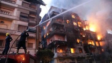 يوم من الحرائق في محافظة الجيزة: إصابات وتفحم سيارات
