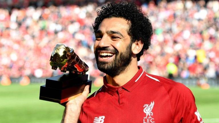 محمد صلاح يفوز بجائزة هدف الموسم لليفربول (فيديو)