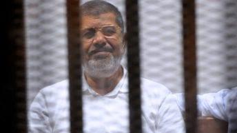 التلفزيون المصري: وفاة الرئيس الأسبق محمد مرسي أثناء جلسة محاكمته