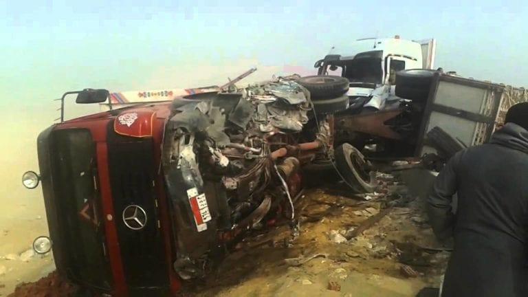 حادث طريق مروع