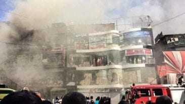 حرائق في مصر