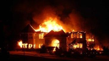 حريق كنيسة الأنبا بولا