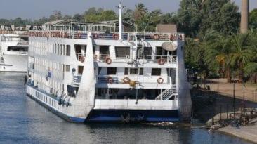 غرق عوامة سياحية في النيل بمنطقة الدقي
