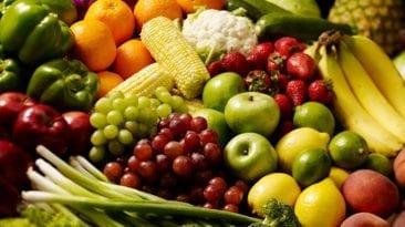 الخضراوات والفاكهة