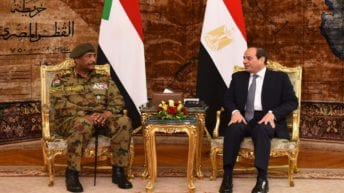 السيسي يهنئ السودان بتوقيع اتفاق ترتيبات المرحلة الانتقالية