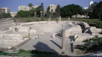 """""""الآثار"""" تعلن اكتشاف بقايا مدينة أثرية رومانية بالإسكندرية"""