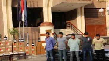 القبض على عصابة لتصنيع مخدر الآيس في الإسكندرية والجيزة (صور)