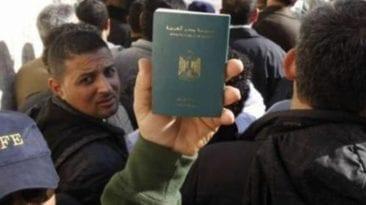 انخفاض تصاريح العمل الصادرة للمصريين بالخارج بنسبة 7.7%